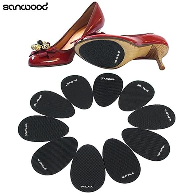 2018 חדש עיצוב 5 Pairs אנטי להחליק העקב נעלי Sole גריפ מגן החלקה רפידות מתנות
