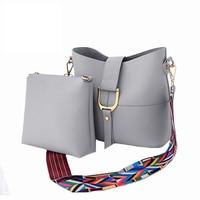 SWDF New Design Women Bucket Bag Set Fashion Women Messenger Bags Handbags Women Famous Brands Wide