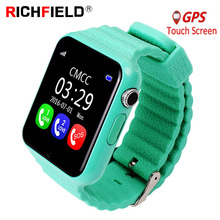 V7k Kids Smart Watch SOS Antil-lost Smartwatch Baby 2G SIM Card Bluetooth Clock Call Location Tracker PK Q50 Q90 Q528