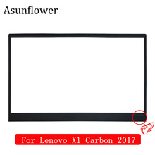 Asunflower New LCD front Bezel Cover Frame Sticker For Lenovo ThinkPad X1 Carbon 2017