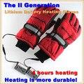 3.7 V / 2000 MAH guantes de calefacción eléctrica, deporte exterior pistas la batería de litio auto calentó los guantes, caliente 3 horas Boys & Girls