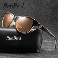 2019 De la marca De lujo De diseño De ojo De gato gafas De Sol polarizadas para dama elegante Sol gafas mujer conducción gafas De Sol 5373