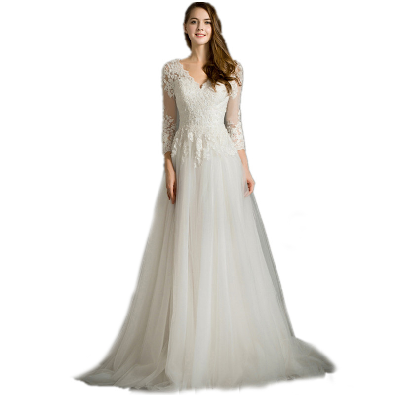 Online buy wholesale lace maternity wedding dress from for Cheap wedding dresses for pregnant women