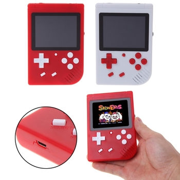 Crust Pro High Quality 3.0 LCD Screen Handheld Game Player Built-In 400 Classic Video Game Console (Not included Battery)-Y1QA