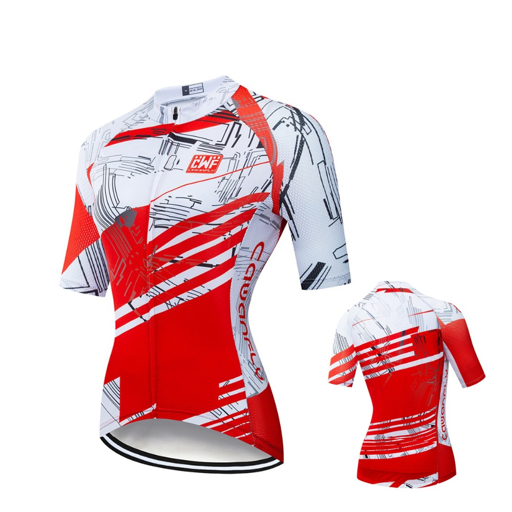 2019 Biking Jersey Ladies Bicycle Jersey Bicycle Put on Workforce Brief Sleeve Bike Garment Biking Clothes Sport Anti-UV Ropa Ciclism Biking Jerseys, Low-cost Biking Jerseys, 2019 Biking Jersey Ladies...