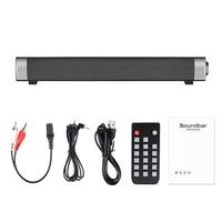 Wireless Speaker Bleutooth Sound bar Hifi Stereo Loudspeaker SoundBar For PC Speaker Home Theater Sound System