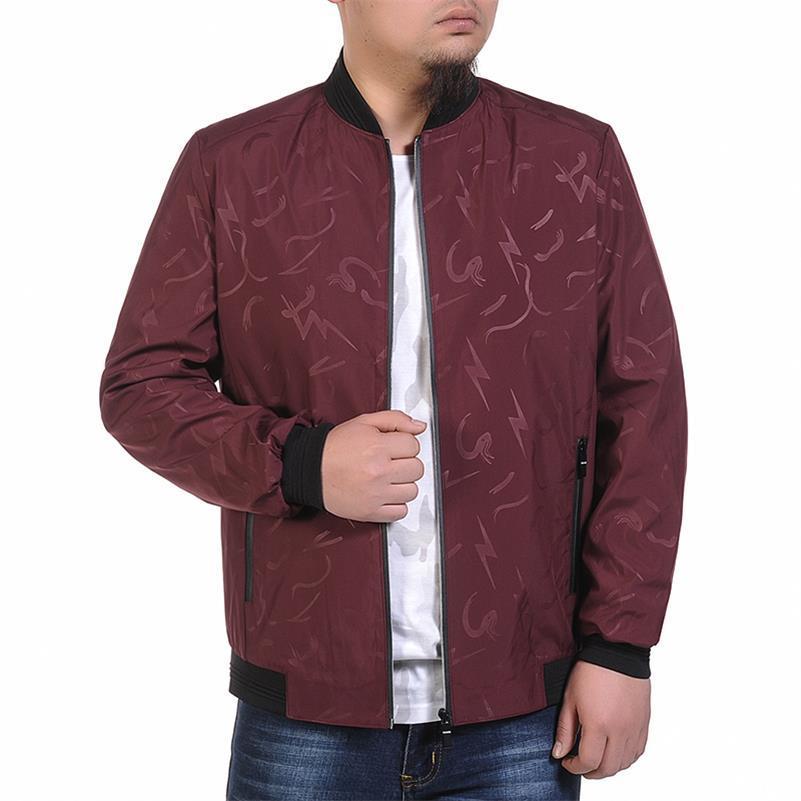 Новый Плюс Размер 9XL 8XL 7XL 6XL 5XL 4XL куртка мужская тренд колледж Slim Fit высококачественные повседневные мужские куртки и пальто - 4