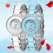 SINOB Marca de Relojes de Lujo de Las Mujeres de Moda Reloj Pulsera de Diamantes Señoras Reloj de Cuarzo Resistente Al Agua Ocasional Del Relogio Feminino 9288