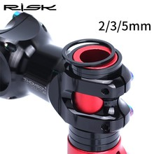 RISK Mtb Bike Stem Spacer Aluminum CNC 2 / 3 5 mm Bicycle headset