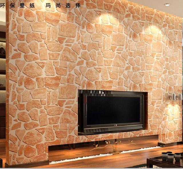 rock efecto piedra natural papel pintado impermeable de vinilo en relieve de la roca de piedra with paredes de piedra natural