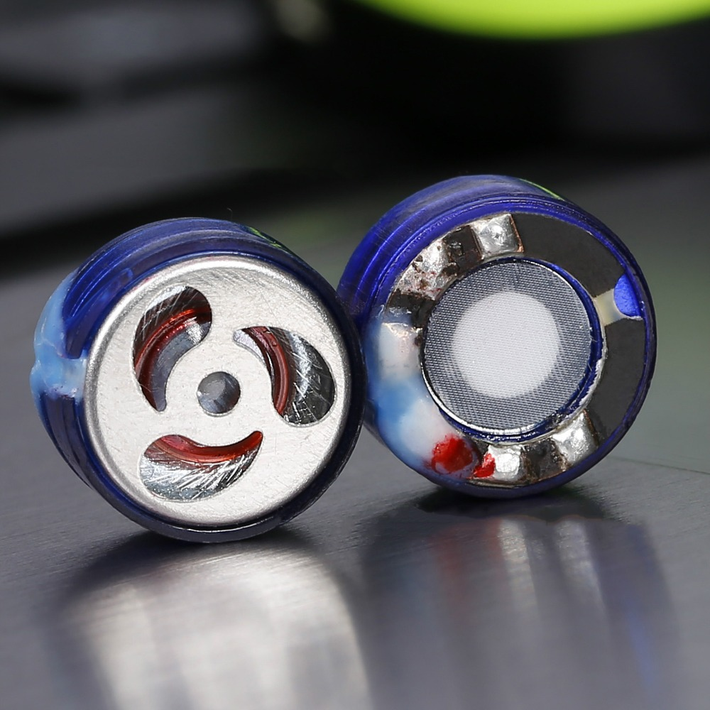2pcs KZ DIY 10mm Bass Driver Unit Earphone Dynamic Moving-coil Speaker Monitor Headset Material HiFi Earbuds Horn Part diy earphone double moving coil copper ring double unit heavy bass sound field shock