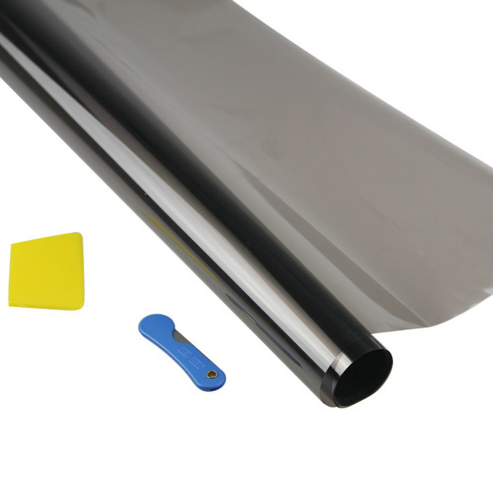 Black Window Tint Film Glass 35% 25% 50% Roll 1 PLY Auto House Commercial UV+Insulation Car Tint Film For Side Window 50* 300cm