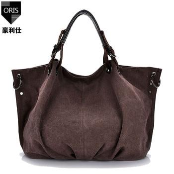 ORIS 2017 femmes sacs à main femmes messenger sacs grande capacité toile sac à main dames sac feminina embrayage cahier titulaire fourre-tout