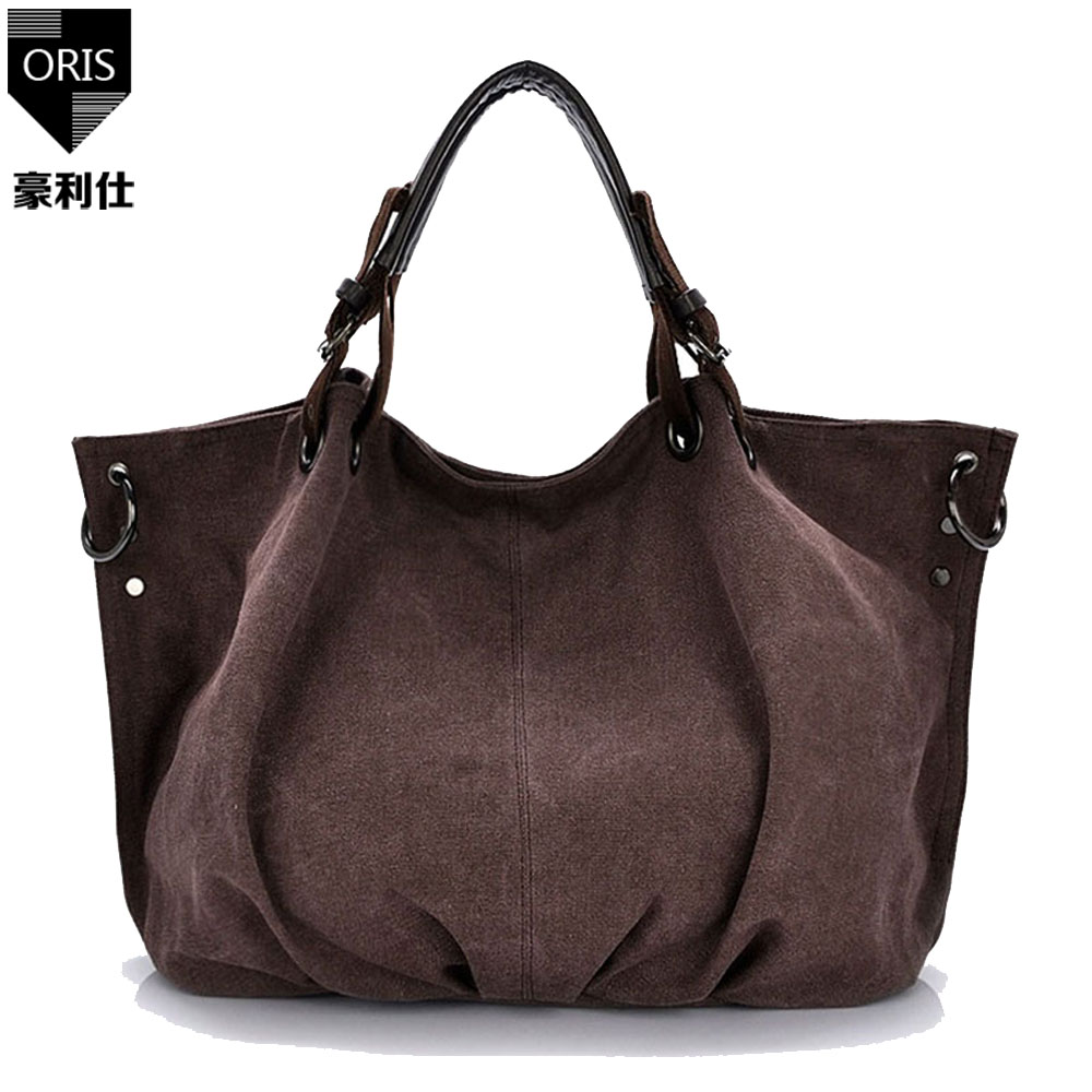 ORIS 2017 women handbags women messenger bags big capacity canvas handbag ladies bag fem ...