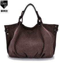 ORIS 2017 women handbags women messenger bags big capacity canvas handbag  ladies bag feminina clutch notebook 0194044a0479f