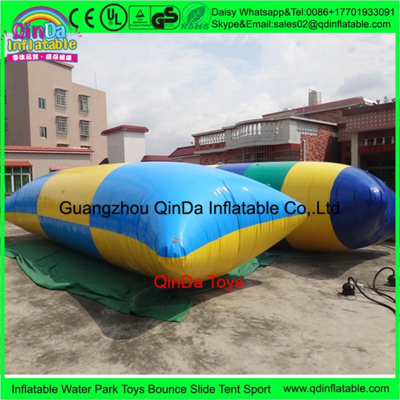 China manufacturers air bouncer inflatable trampoline, Inflatable Water blob inflatable water catapult,jumping air bag inflatable jumping pillow inflatable water blob jump inflatable water catapult blob
