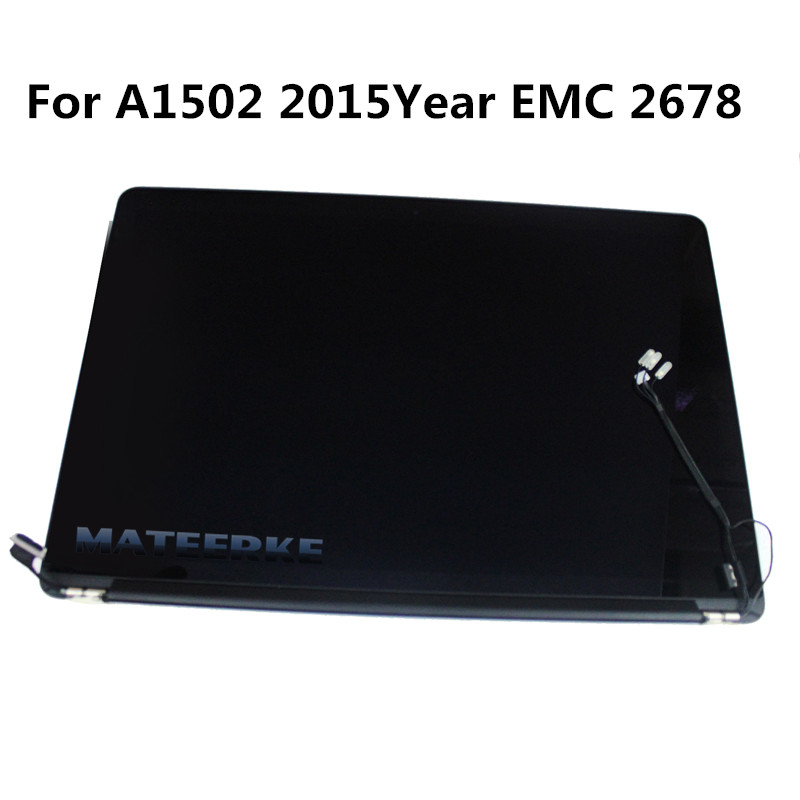 100% New A1502 Full Display Assembly for Macbook Pro Retina 13 A1502 LCD Screen Complete Assembly 2015 Year MF839 MF840 M841 used original 13 inch a1237 lcd assembly for macbook air full complete 1304 lcd display screen assembly tested replacement