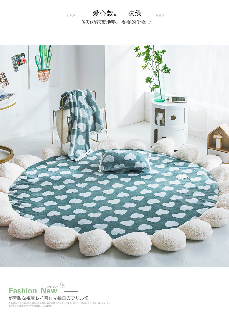 Nordic Carpets For Living Room Home Decorative Round Carpet Bedroom Sofa Coffee Table Round Rug Modern Study Room Floor MatNordic Carpets For Living Room Home Decorative Round Carpet Bedroom Sofa Coffee Table Round Rug Modern Study Room Floor Mat