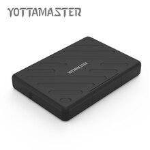 YOTTAMASTER USB 3.0 HDD Внешний Корпус Безопасности Водонепроницаемый HDD Жесткий Диск Коробка Последовательный Порт SATA Инструмент Свободного МЕСТА на ЖЕСТКОМ Случае 2.5 Дюймов