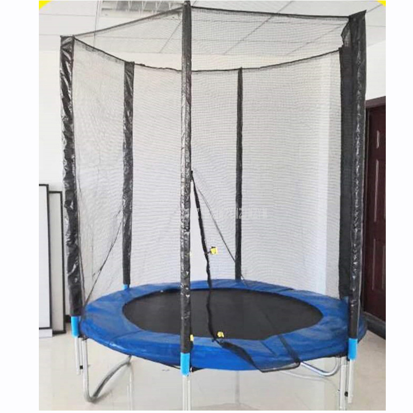 6 Feet High Quality Practical Trampoline With Safety Protective Net Jump Safe Bundle Spring Safety With Ladder Load Weight 250kg6 Feet High Quality Practical Trampoline With Safety Protective Net Jump Safe Bundle Spring Safety With Ladder Load Weight 250kg