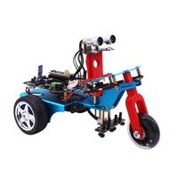 4WD умный автомобильный комплект сплав raspberry pi zero 3B модель плюс робот ардуино мотор ультразвуковой шарик STM32 комплект программируемый Wi Fi