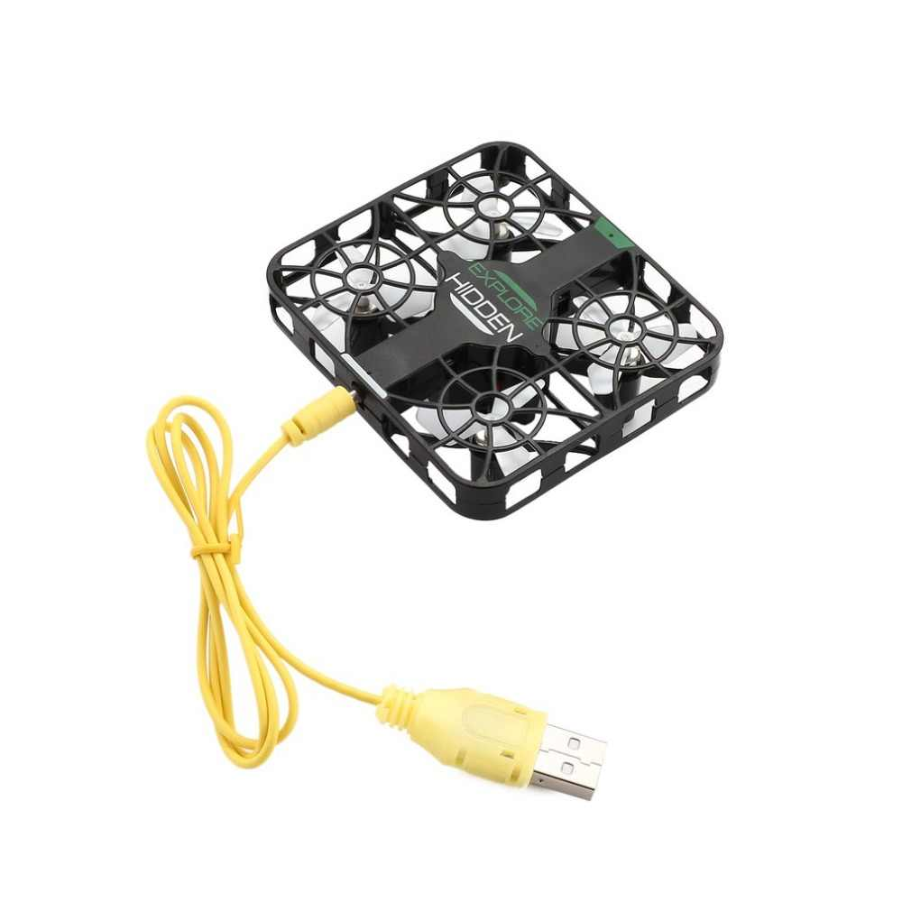 QS003 2,4 GHz Mini RC Quadcopter Drone avión UAV con 0.3MP Wifi FPV Cámara Altitude Hold Crashworthy estructura 3D Flip