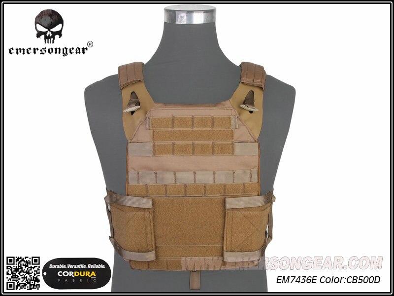 Emerson Molle Cp Style Adaptive Vest Jpc 2.0 Tactische Vest Militaire Combat Borst Bescherming Jacht Cs Kleding Veiligheid Em7436e Crazy Prijs