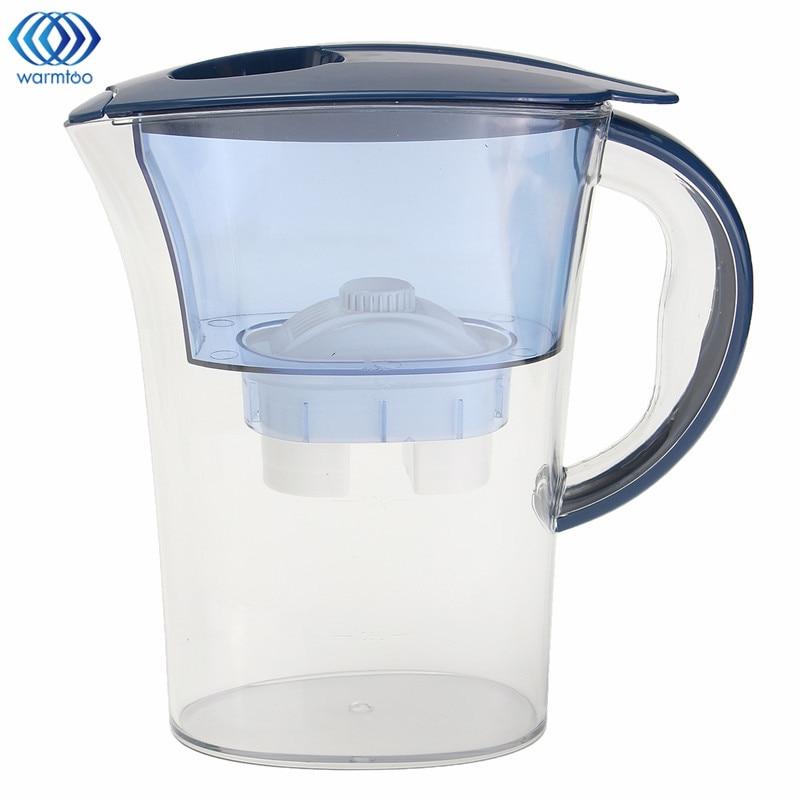 2.5L Water Purification Jug Brita Water Filters Purifier Healthy Mineral Water Lonizer Alkaline Filtered Pot Household kitchen wholesale lcd alkaline water ionizer