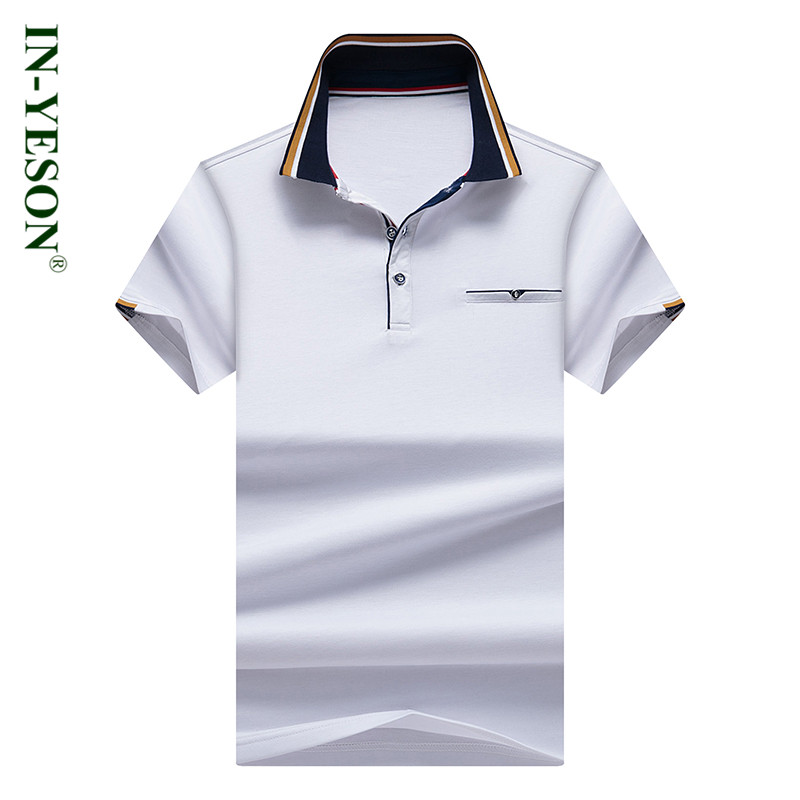 Striped Collar Solid   Polo   Shirt Men 2018 New Elegant Fashion Brand Camisa   Polo   Summer High Quality Casual & Business   Polo   Shirts