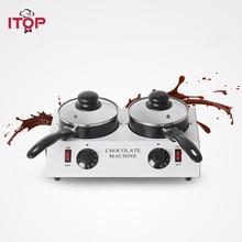 2016 Chocolate melting machine Chocolate melting pot 2 pots