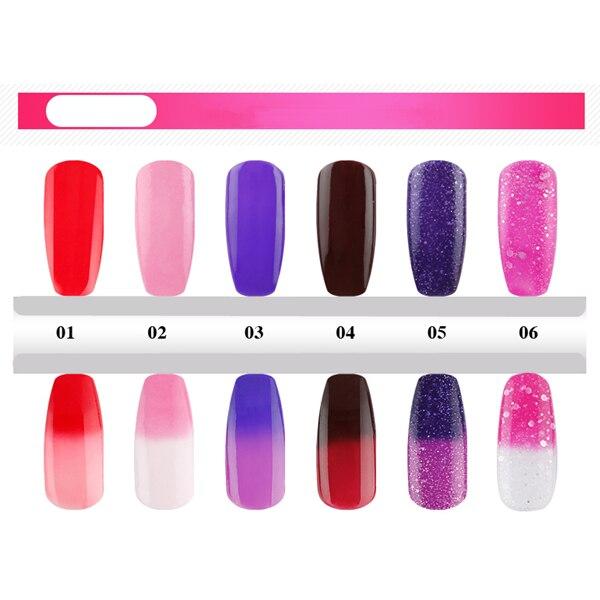 Color Changing Glitter Nail Polish - Water Nail Polish Design