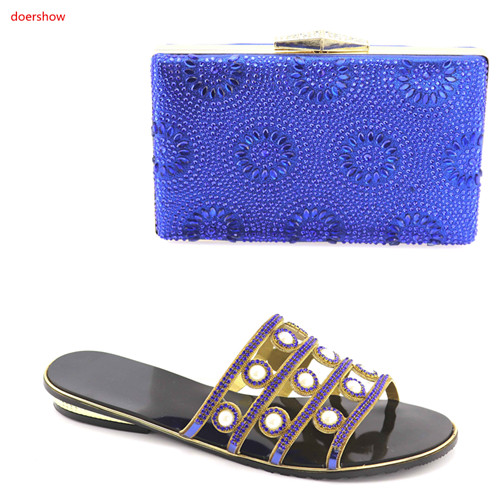 doershow new arriva Shoes and Bag To Match Italian Summer African Style Shoes and Bag Set Italy Ladies Shoes and Bag Set HBV1-10 doershow new arrival shoes and bag to match italian summer african style shoes and bag set italy ladies shoes and bag as1 33