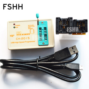 Image 1 - FREE SHIPPING!CH201 programmer+150mil SOP8 socket+208mil SOP8 socket high speed USB SPI Programmer 24 25 93 EEPROM 25 flash bios