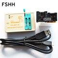 FREE SHIPPING!CH201 programmer+150mil SOP8 socket+208mil SOP8 socket high-speed USB SPI Programmer 24 25 93 EEPROM 25 flash bios