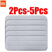 Xiaomi Mijia Deerma Replace Mop Cloth Rags for Mi Water Spray 360 Rotating Cleaning Head Wooden Carbon Fibe