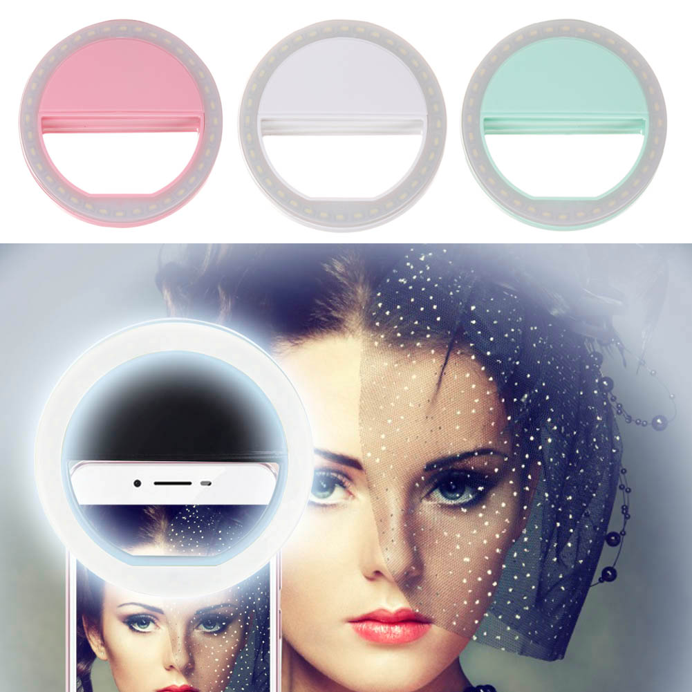 Natural Ring Led Light Case Phone Beauty Selfie Flash Fill Iphone 5 6 6s