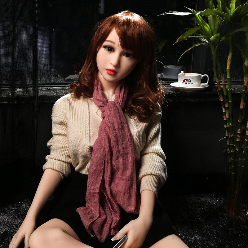 Buy 140cm silicone sex doll men,real skin metal skeleton,realistic breast pussy,the sexual dolls,adult products