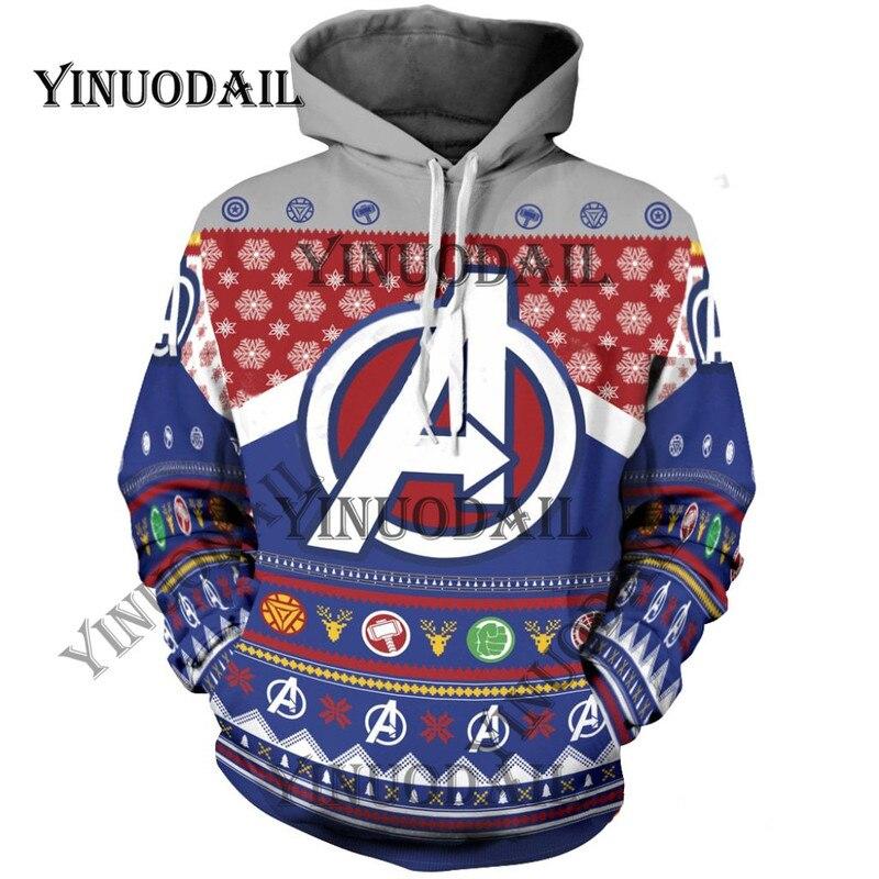Fans fait Deadpool 3D sweats à capuche imprimés pour Marvel Venom Spiderman Fa Captain America Cosplay de noël pour hommes sweat ns