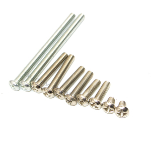 Image 2 - 1000Pcs M3 Stainless Steel  Phillips Screws Cross Round Head Screw Bolts Nuts Fasteners Hardware Tools M3 x 20/25/30/35/40 mm