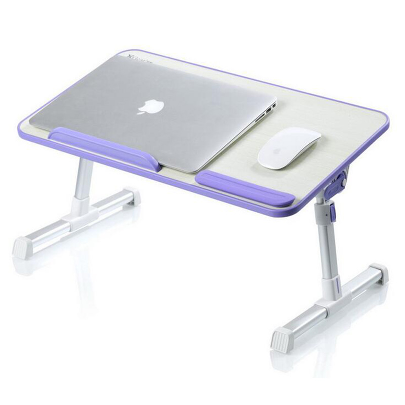 ФОТО Foldable laptop Aluminum alloy lapdesk table pc stand support 17 Inch or Larger size protection of cervical vertebra enhanced