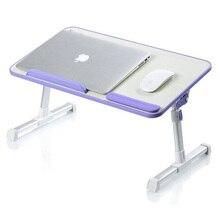 Faltbare laptop aluminiumlegierung lapdesk tabelle pc stand unterstützung 17 Zoll oder Größere größe schutz der halswirbel verbesserte