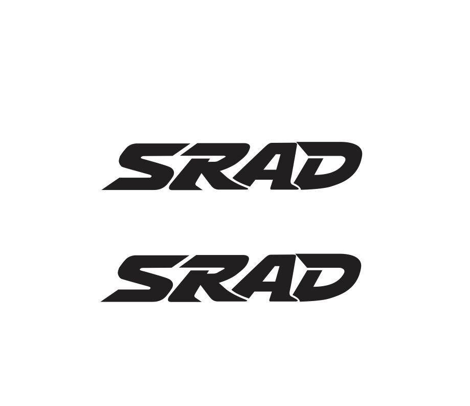 For 2Pcs Suzuki SRAD Bike Decal Sticker Car Styling-in Car