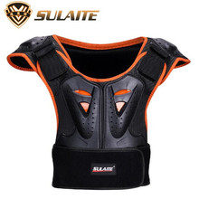SULAITE Outdoor Sports Children Armor Vest Suitable children Kids Skateboard Skiing Riding Chest Protector Guards