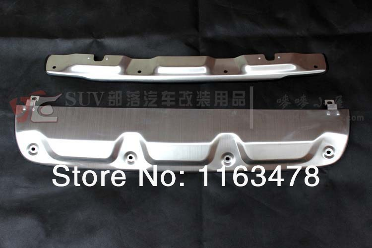 For Honda 2012 2013 2014 CRV CR V Aluminium Alloy Front Rear Bumper Protector new
