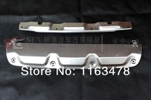 For Honda 2012 2013 2014 CRV CR-V Aluminium Alloy Front+Rear Bumper Protector new