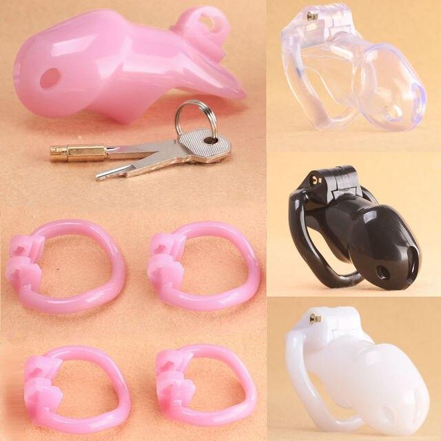 PrisonBird Standard  Male Chastity Belt Device Cage Kit - Incl 4 Rings!HoD Holy Trainer V2 Fetish BDSM