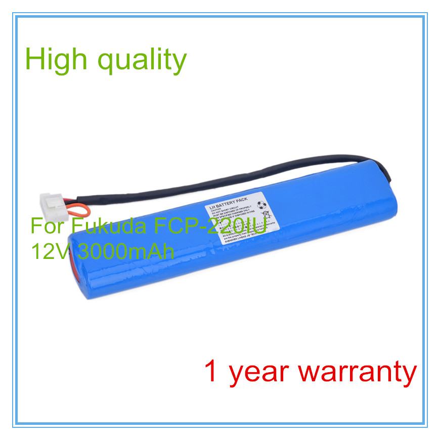 Manufacturers sales ECG Battery Replacement for  electrocardiogram machine FCP-220IU Medical NI-MH battery replacement medical battery for mindray equipment t5 t6 t8 ecg battery