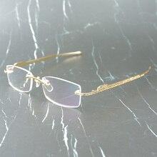 Panther Glasses Frame Carter Sun Glasses for Women and Men Rimless Eyeglasses for Reading Luxury Decoration Gafas 0146 kinklight 0146