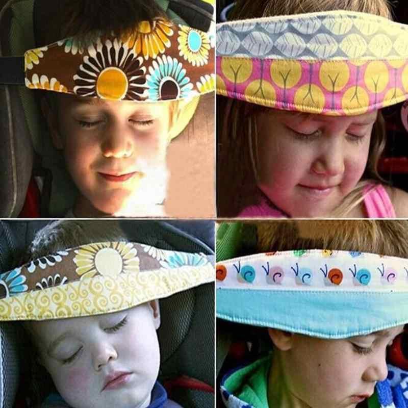 Ajustável Suporte de Fixação de Cabeça Cinto de Segurança Do Assento de Carro Carrinho De Bebê Carrinho de Bebê Carrinho de Suporte Posicionador Sono Acessórios Aleatórios