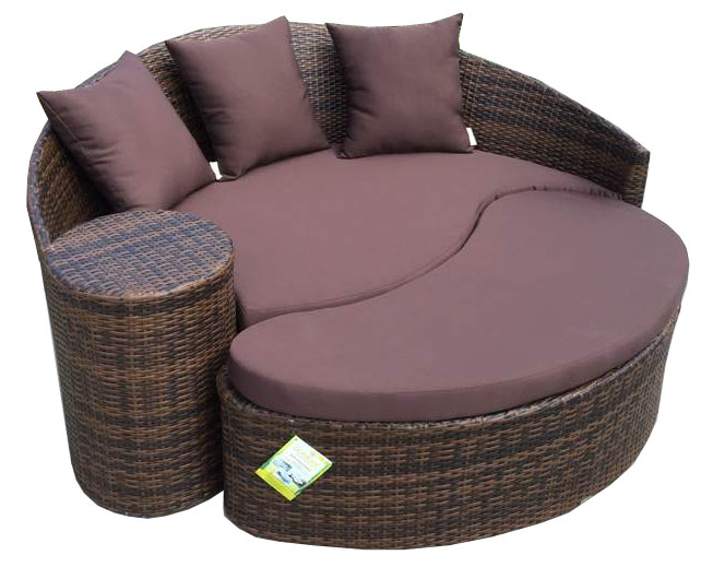 Hotel Poly Pe Rattan Outdoor Furniture Beach Sun Modern Wave Bed In Loungers From On Aliexpress Alibaba Group